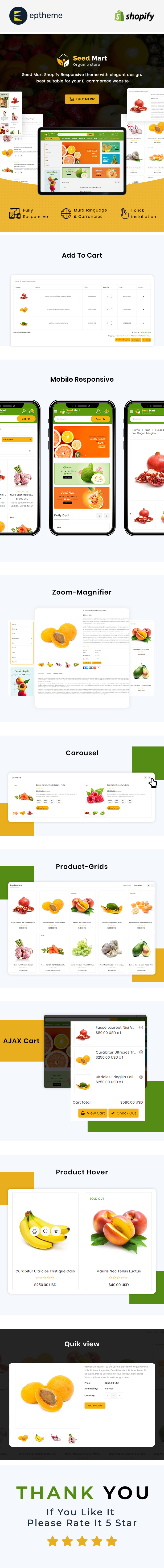 SeedMart - Shopify Food & Grocery Store - 2
