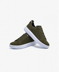Canvas Slip On Sneakers For Women