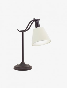 Blanc Table Lamp in White Colour